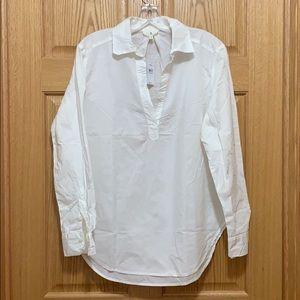 NWT Lou & Grey White cotton tunic Small